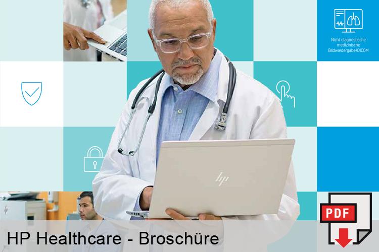 HP Healthcare Broschüre