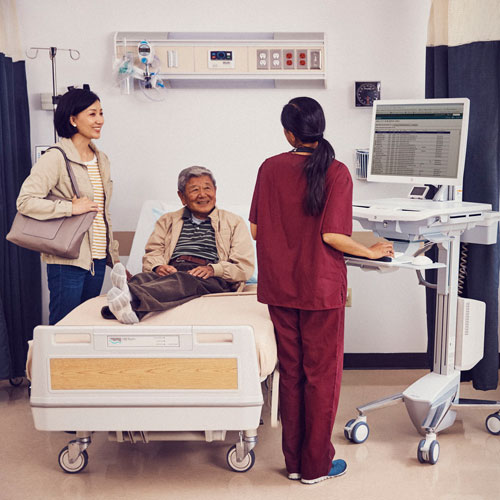 HP Healthcare Edition HC241 Klinischer Kontrollmonitor