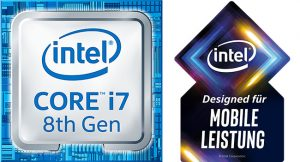 Intel Core i7 8th Gen mit Athena