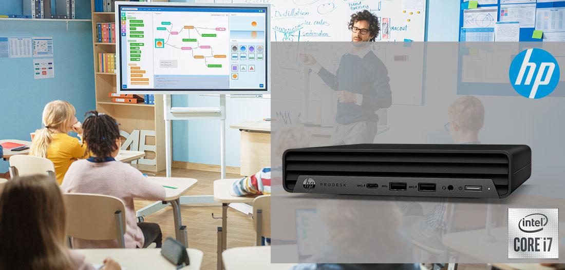 HP ProDesk 400 Header